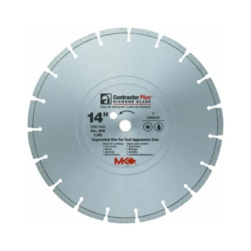 Segmented Rim Dry Cut Diamond Blade