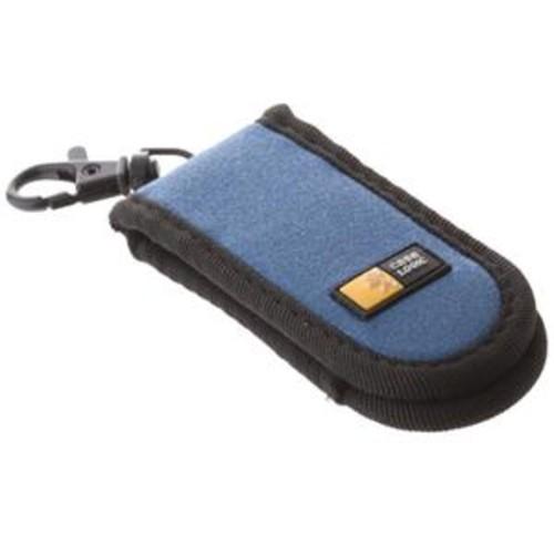 Case Logic Drive Shuttle Case, Holds 2 USB, Black/Blue JDS2 BLK/BLU