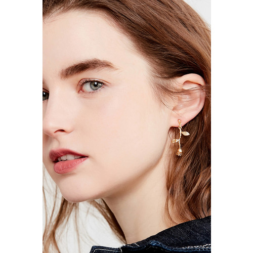 Rose Statement Drop Earring [REGULAR]