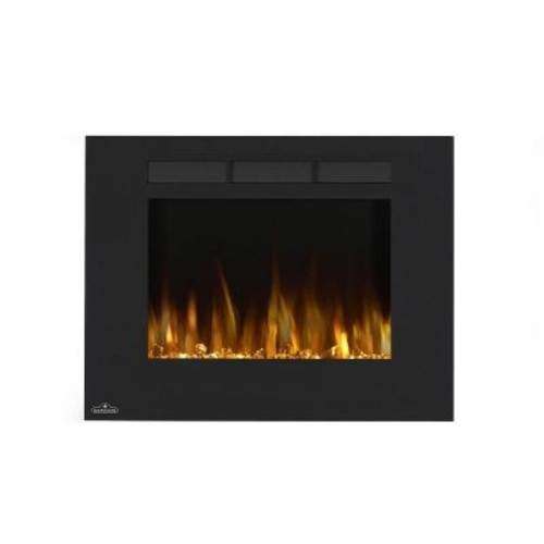 NAPOLEON 32 in. Wall-Mount Linear Electric Fireplace in Black