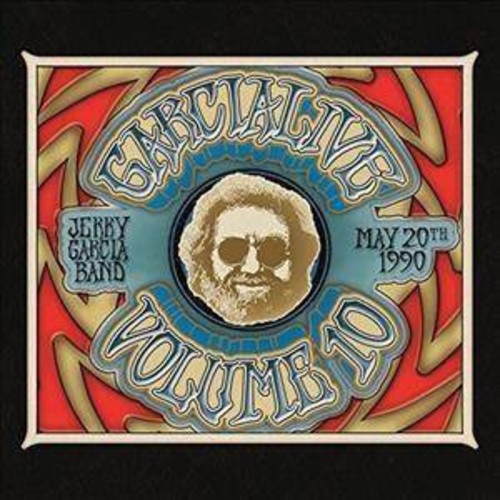 Jerry Band Garcia - Garcialive Volume Ten:May 20th 1990 (CD)