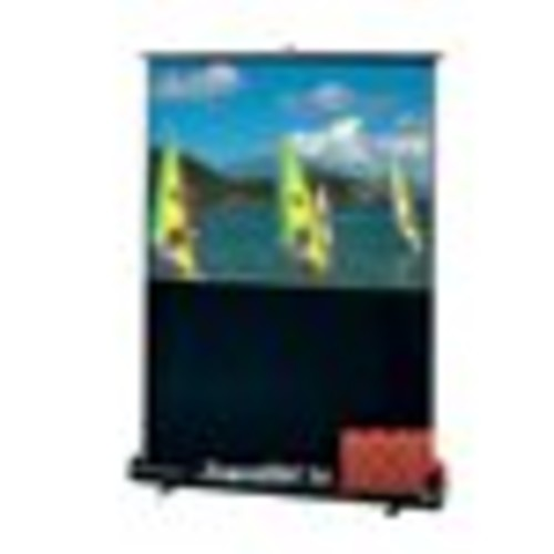 230109 - Draper Traveller Portable Projection Screen - 60 x 80 - Fiberglass Matt White - 100 Diagonal