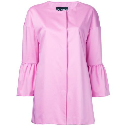 BOUTIQUE MOSCHINO Peplum Sleeve Coat