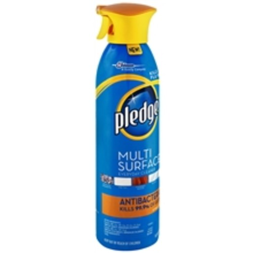 Pledge Multi-Surface Antibacterial Spray Cleaner Citrus