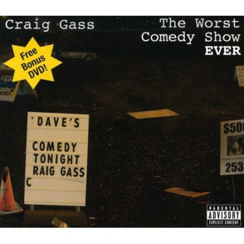 The Worst Comedy Show Ever! [CD/DVD] [CD & DVD] [PA]