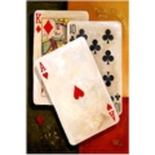 ''Poker King'' by Barbara Katz Sports/Games Art Print (20.5 x 14.5 in.)
