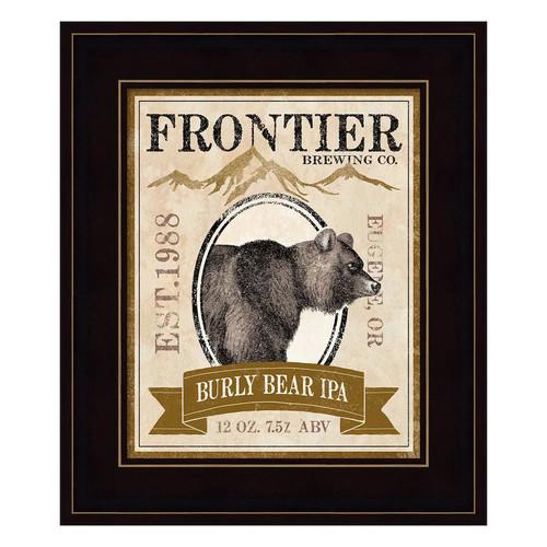 Frontier Brewing IV Framed Wall Art