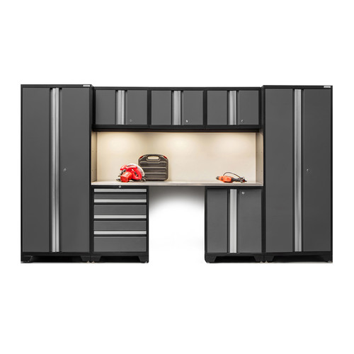 Age Bold Series 8-piece Stainless Steel Cabinet Set [option : Red - $1,233.99]