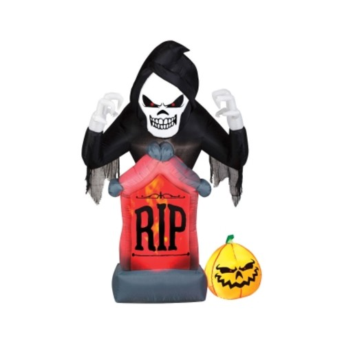 Inflatable Halloween Grim Reeper RIP 60