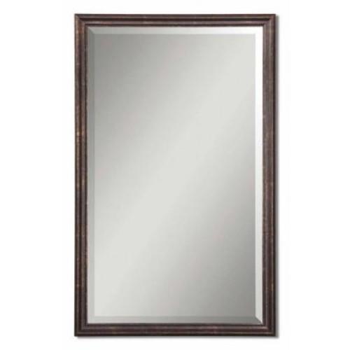Global Direct 32 in. x 20 in. Bronze Vanity Framed Mirror