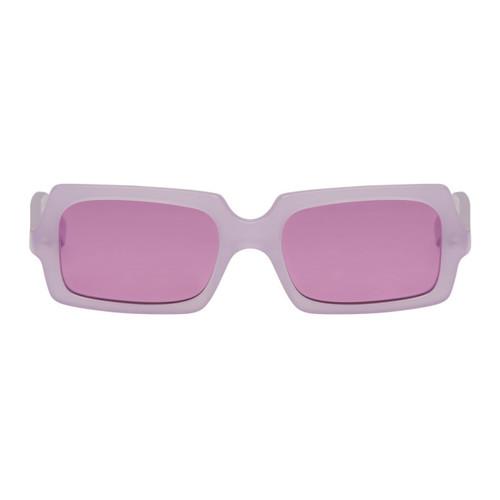ACNE STUDIOS Purple George Sunglasses