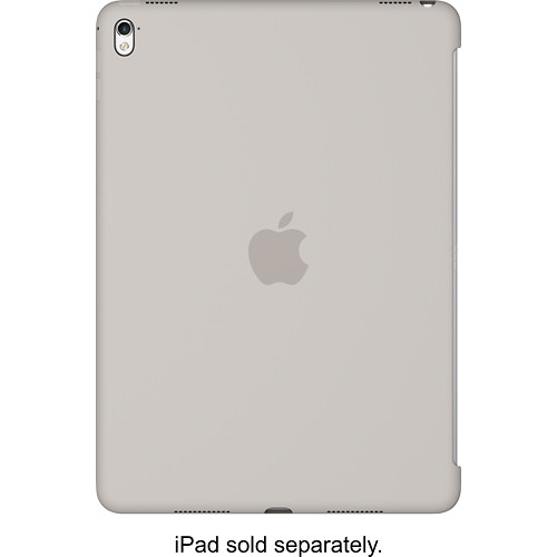 Apple - Silicone Cover for 9.7-inch iPad Pro - Stone