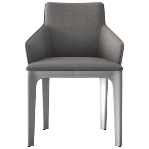 Oxford Dining Chair [||color : Grey Denim on Alpine]