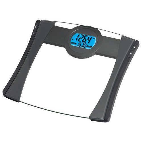 EatSmart - Precision CalPal Digital Bathroom Scale - Black