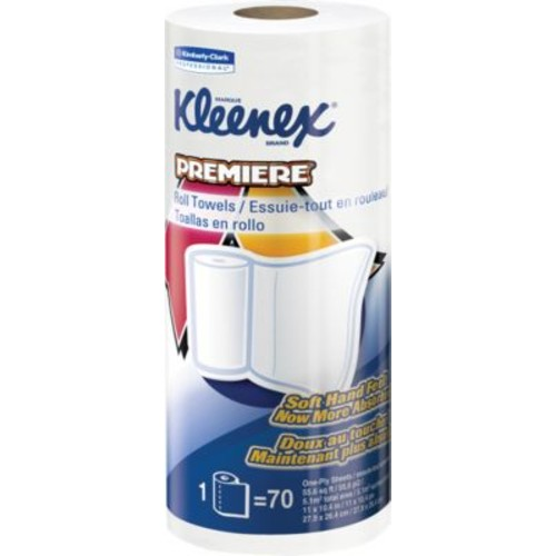 Kleenex  Towels Premiere Kitchen Paper Towels, 70 Sheets/Roll, 24 Rolls/Case (13964)