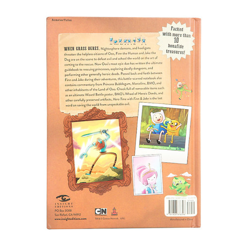 Adventure Time Hero Time With Finn & Jake Book