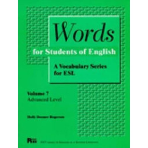 Words for Students of English / Edition 1