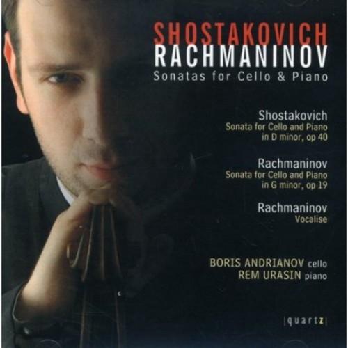 Shostakovich/Rachmaninov: Sonatas for Cello & Piano