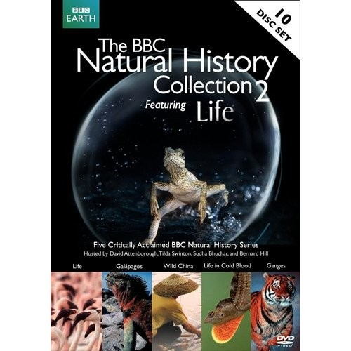 BBC Natural History Collection, Vol. 2 Featuring Life [10 Discs] (DVD) (Enhanced Widescreen for 16x9 TV) (Eng/Hindi/BN)