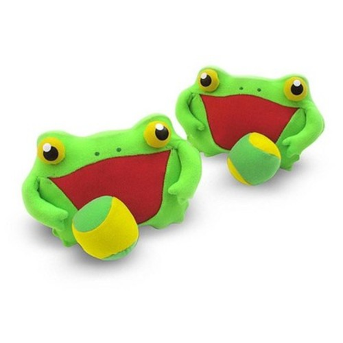 Melissa & Doug Sunny Patch Froggy Toss and Grip Catching Game With 2 Balls