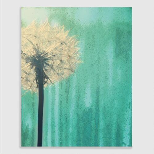 Dandelion Greenish by Ashley Calhoun