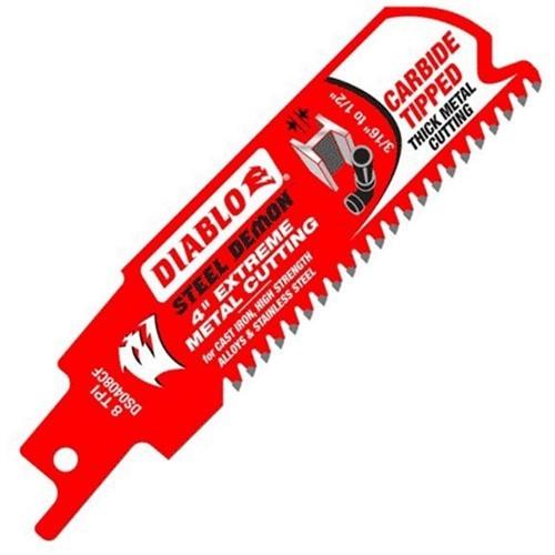Diablo Steel Demon Carbide Metal Reciprocating Saw Blade - DS0408CF