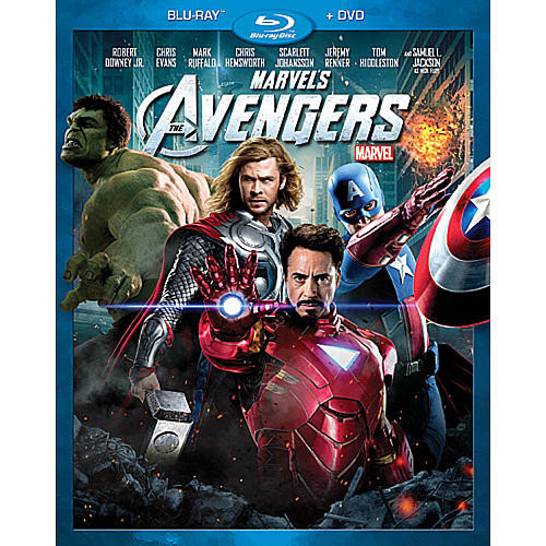 Marvel's The Avengers 2-Disc Blu-ray Combo Pack