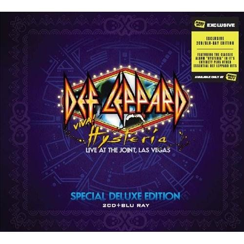 Viva Hysteria [2CD+BR] [HMV Exclusive] [CD & Blu-Ray]