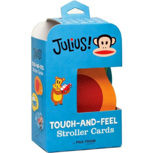 Julius!: Touch-and-Feel Stroller Cards