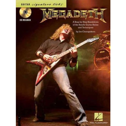 Megadeth - Signature Licks: A Step-by-Step Breakdown of the Band's Guitar Styles & Techniques (Book/CD)