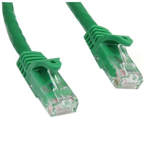 Startech dot com StarTech dot com 100 ft Green Snagless Cat6 UTP Patch Cable 2DM7772