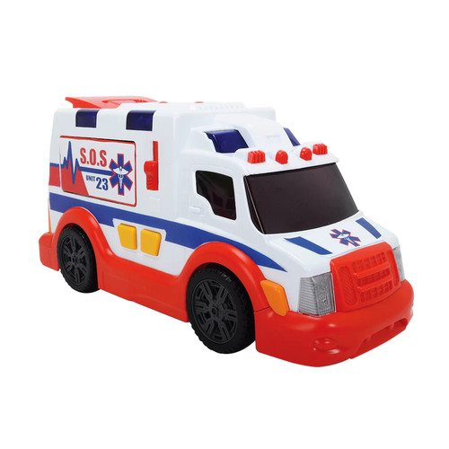 Dickie Toys Light and Sound Ambulance Vehicle