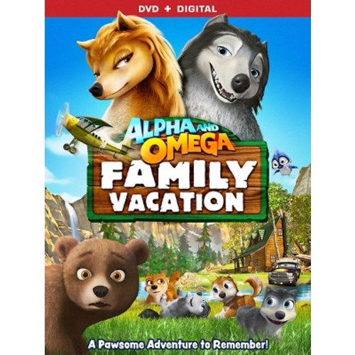 Alpha And Omega: Family Vacation (DVD)