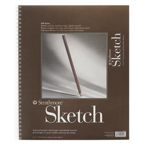 Strathmore 11-inch x 14-inch 400 Series Sketch Book
