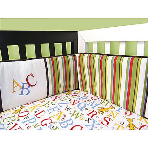 Trend Lab Dr. Seuss ABC 4-Piece Crib Bumper Set