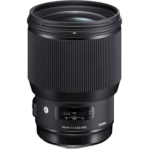 Sigma - Art 85mm F1.4 DG HSM | A Standard Prime Lens for Nikon DSLRs - Black