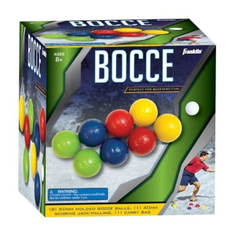Franklin Sports Recreational 8 Piece Bocce Ball Set