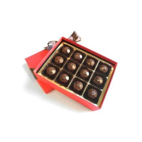 Champagne Chic Assorted Dark Chocolates