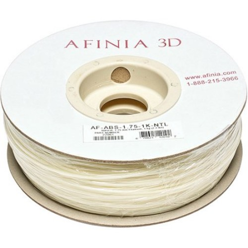 Afinia - 1.75mm ABS Filament 2.2 lbs. - Natural