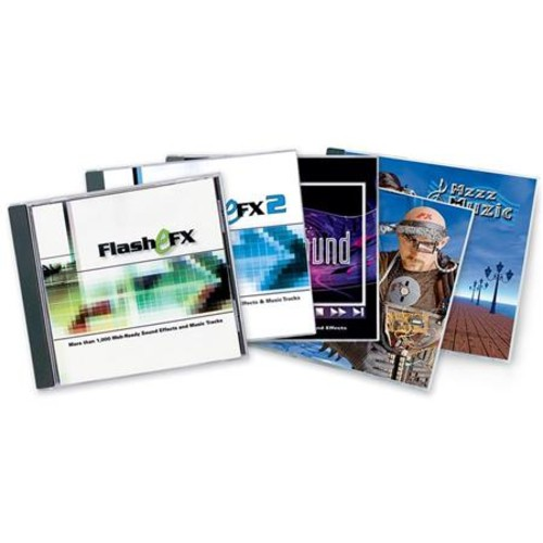 Sound Ideas Multimedia Combo Sound Effects & Royalty Free Music Audio CD M-SI-MMCOMBO