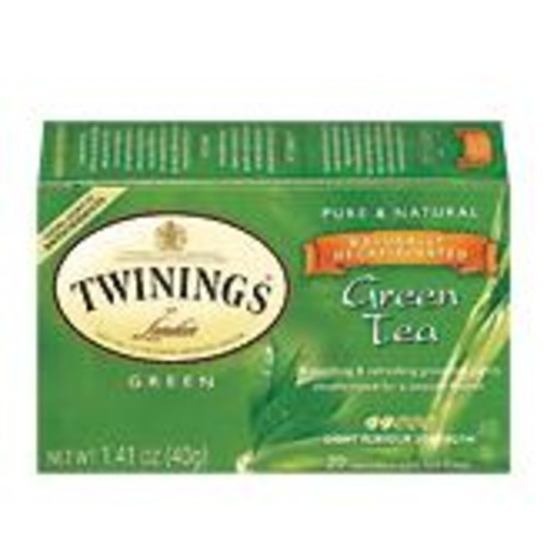 Twinings Naturally Decaffeinated Green Tea (20 count)