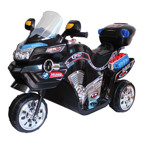 Ride on Toy, 3 Wheel Motorcycle for Kids, Battery Powered Ride On Toy by Lil' Rider ? Ride on Toys for Boys and Girls, 2 - 5 Year Old - Blue FX