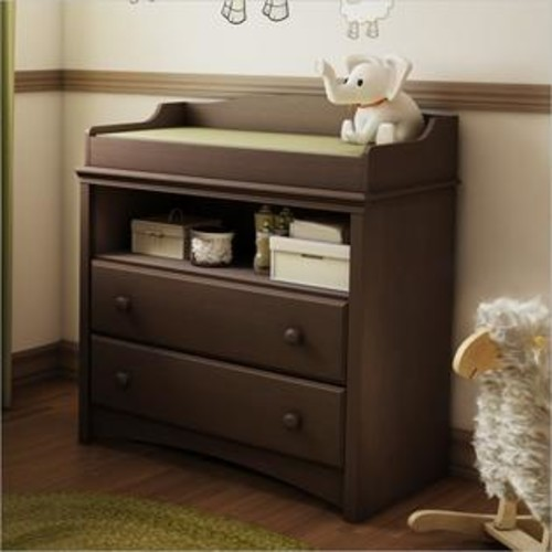 South Shore 3559331 Angel Changing Table - Espresso