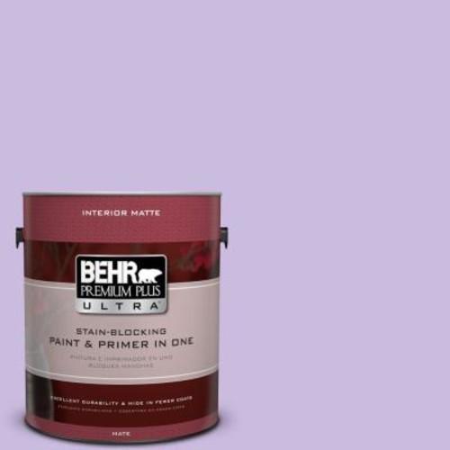 BEHR Premium Plus Ultra 1 gal. #P570-2 Confetti Matte Interior Paint