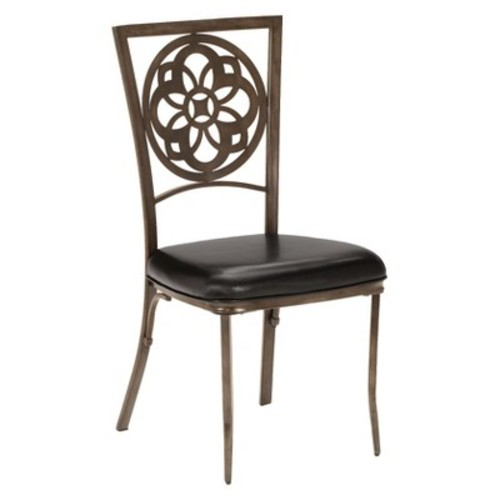 Marsala Dining Chair Metal - Brown (Set of 2) - Hillsdale Furniture
