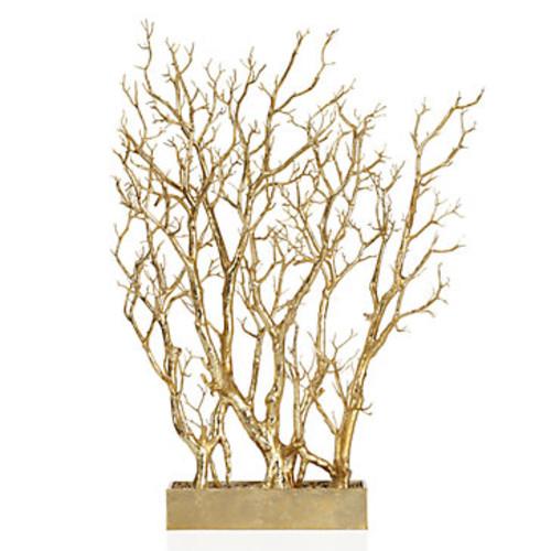 Gold Branch Tree In Pot