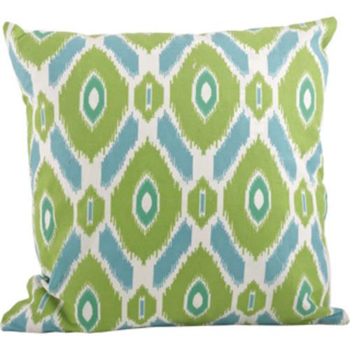 Ikat Design Printed Throw Pillow