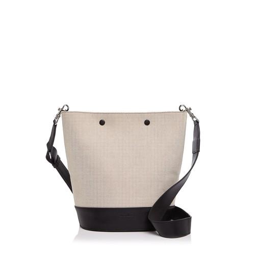 Rhys Linen Bucket Bag