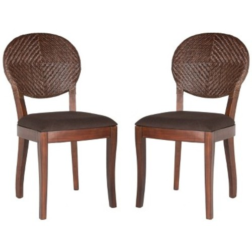 Dining Chair Brown - Safavieh