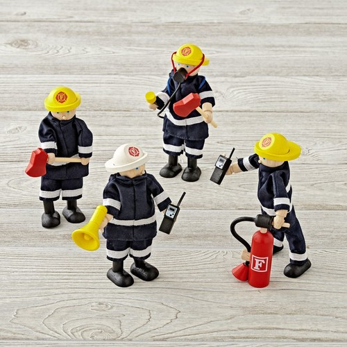 Everything but the Dalmatian Firefighters (Set of 4)